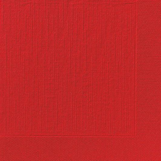 DUNI Klassik Serviette 40x40 cm 1/4F.rot