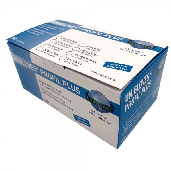 Unigloves Mundschutz 3 lagig Vliesstoff 50 Stück
