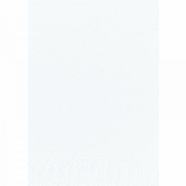 DUNI Zelltuch Serviette 40x40 cm 3lagig 1/8F. weiß