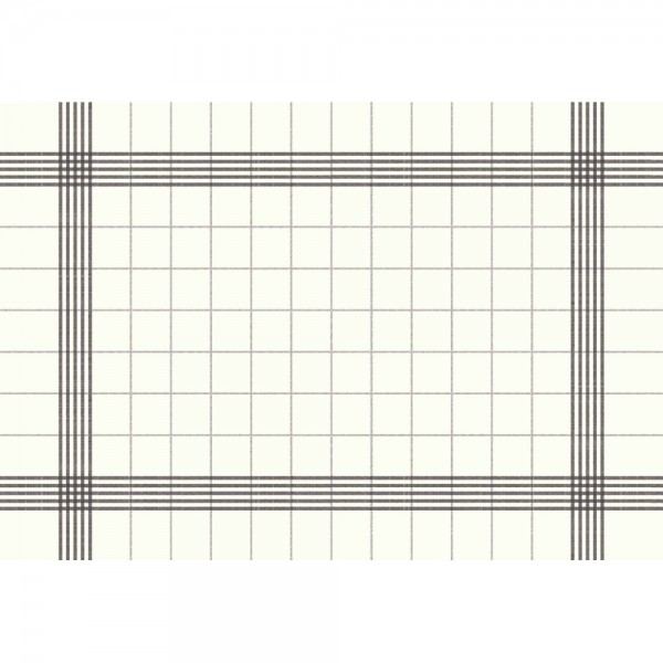 DUNI Towel Napkin 38x54 cm 3-lagig weiß/grau