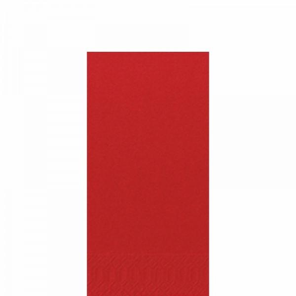 DUNI Zelltuch Serviette 33x33 cm 1/8F. rot