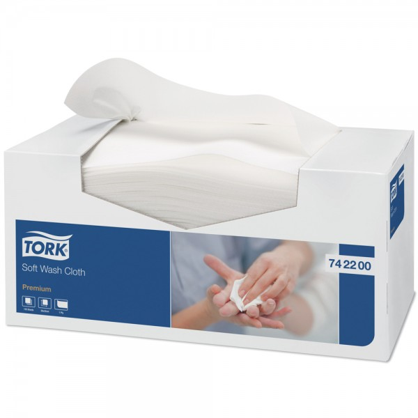 TORK Waschtuch weiß 742200 Premium