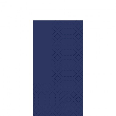 Fasana Zelltuch Serviette 33x33cm 1/8F. royal blau