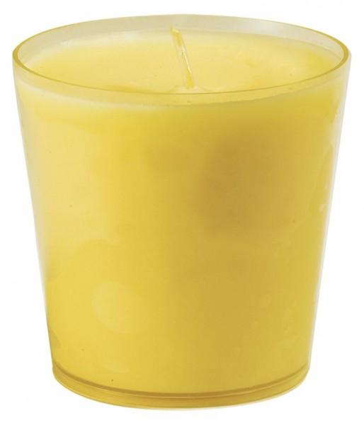 DUNI Refill Kerzen 65 x 65 mm gelb