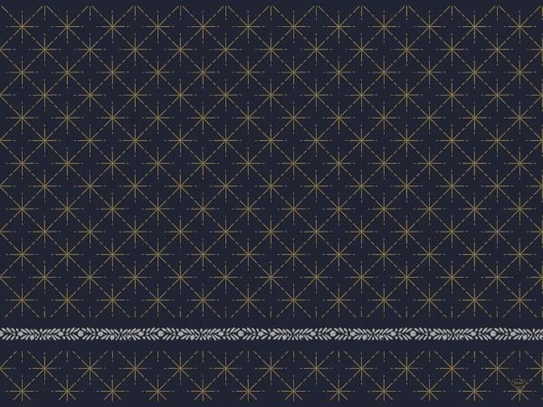 DUNI Tischset Dunicel 30x40 cm Glitter Black