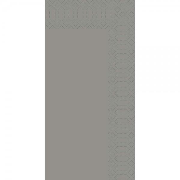 DUNI Zelltuch Serviette 40x40 cm 1/8F. granite grey