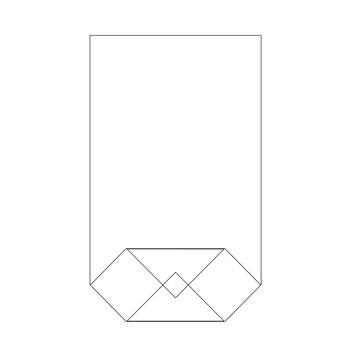 Bodenbeutel Klarsicht 18x30cm transparent