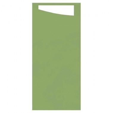 DUNI Serviettentasche Sacchetto 190x85 mm leaf green