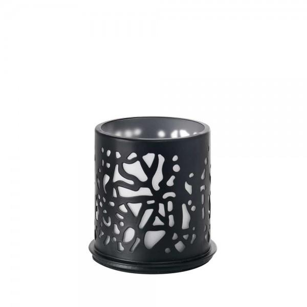 DUNI Kerzenhalter aus Metall 75 x 75 mm Twine