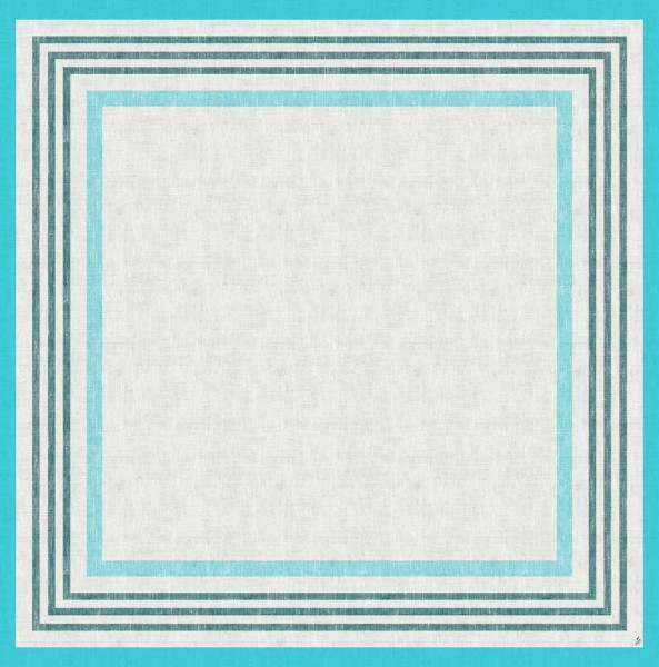 DUNI Mitteldecke Dunicel 84 x 84 cm Raya Blue