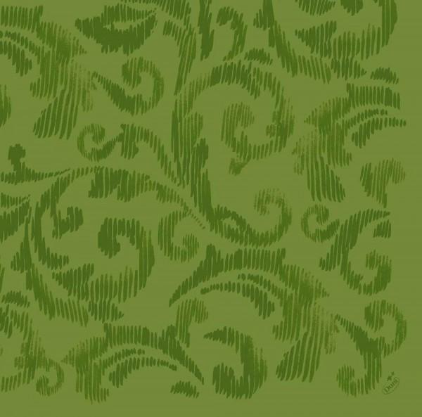 DUNI Dunilin Serviette 40x40 cm 1/4F.Saphira leaf Green