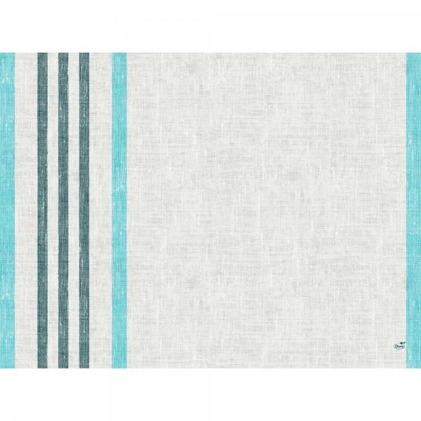 DUNI Tischset Papier 30 x 40 cm Raya Blue