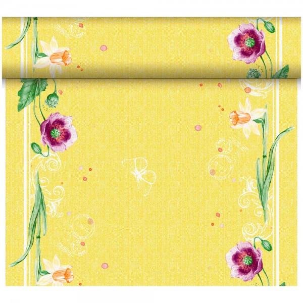 DUNI Tete-A-Tete Tischläufer Dunicel Spring Lilies