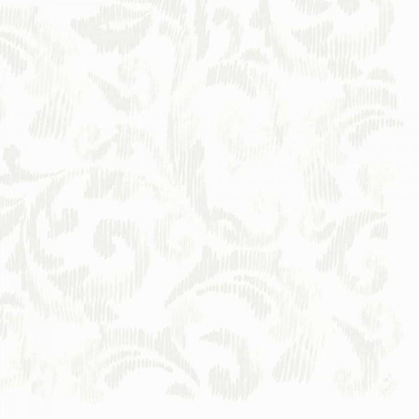 DUNI Dunilin Serviette 40x40 cm 1/4F.Saphira weiß