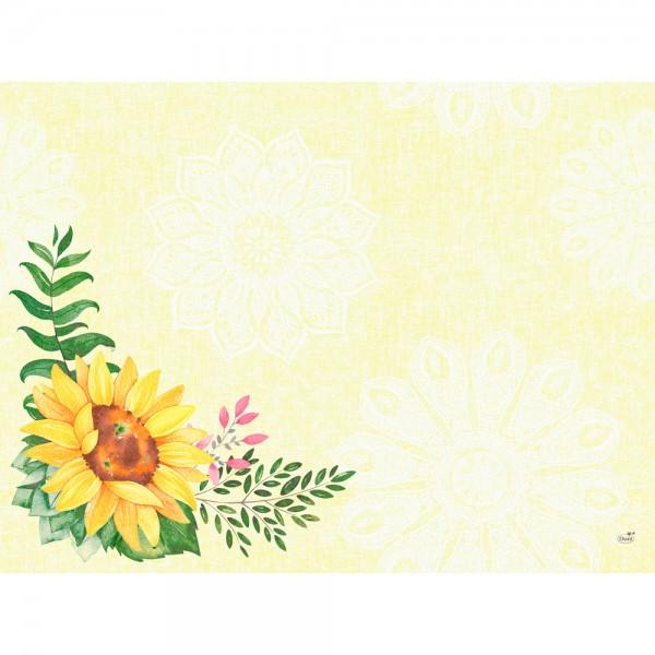 DUNI Tischset Dunicel 30x40 cm Sunflower