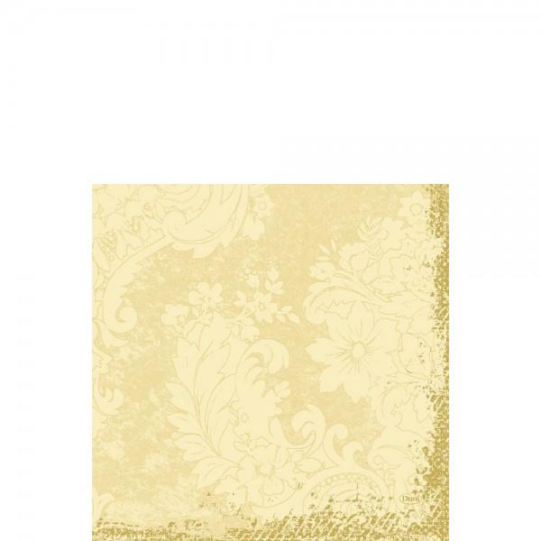 DUNI Zelltuch Serviette 33x33 cm 1/4F. Royal Cream