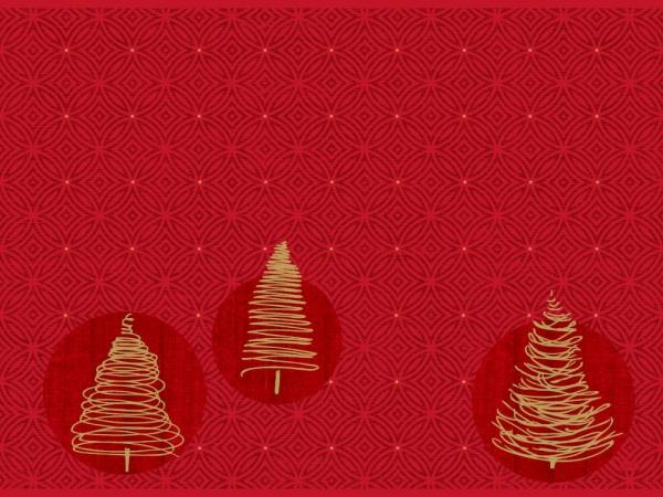 DUNI Tischset Dunicel 30x40 cm Elegant Trees