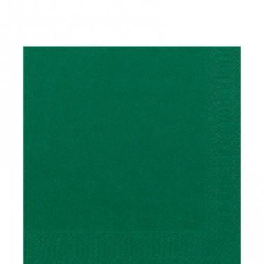 Fasana Zelltuch Serviette 33x33cm 1/4F. jägergrün