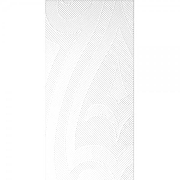 DUNI Elegance Serviette 48x48cm 1/8F.Lily weiß