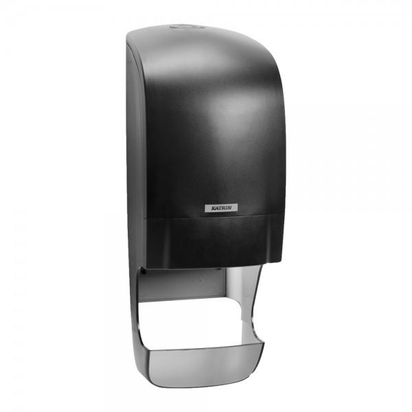 Katrin Toilettenpapierspender mit Hülsenfänger schwarz