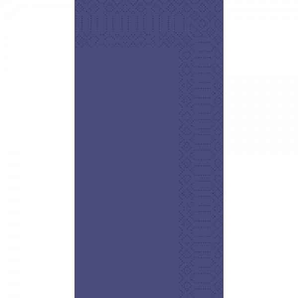 DUNI Zelltuch Serviette 40x40 cm 1/8F.dunkelblau