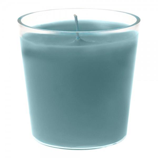 DUNI Refill Kerzen 65 x 65 mm meerblau