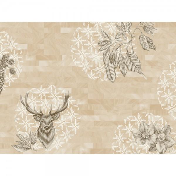 DUNI Tischset Papier 30 x 40 cm Wild Deer