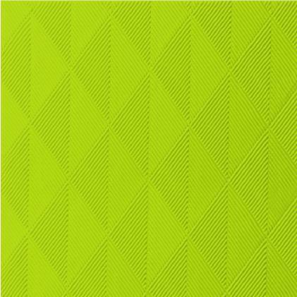 DUNI Elegance Serviette 40x40 cm 1/4F.Crystal kiwi