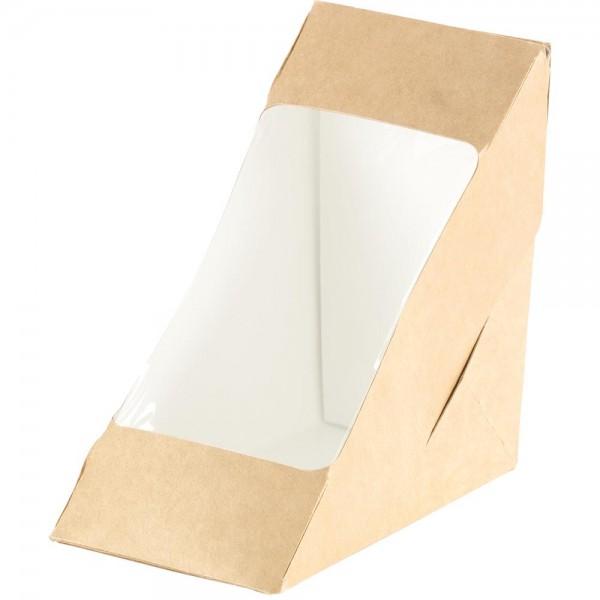 Duni Bio Pappe Box für 2 Sandwichecken Art.:159912