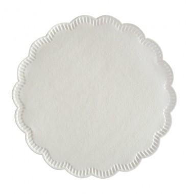 Tassendeckchen Zellstoff Ø 10cm Rand 25 20600