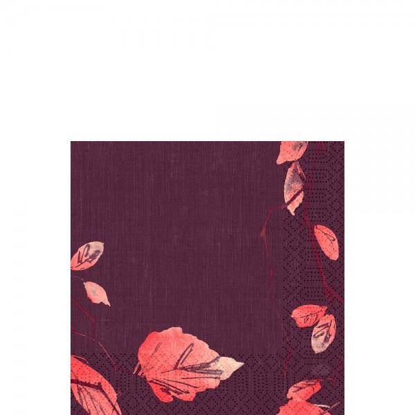 DUNI Zelltuch Serviette 33x33 cm 1/4F.Painted Fall