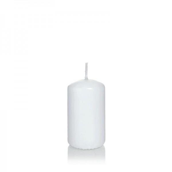 Stumpenkerze 120 mm Ø 50 mm weiß