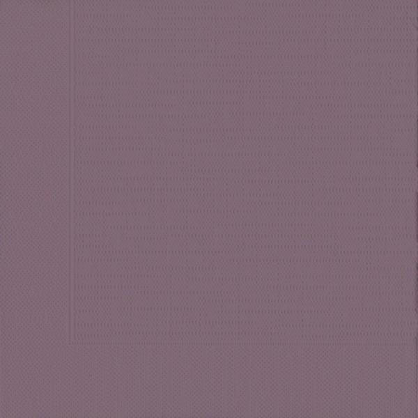 DUNI Klassik Serviette 40x40 cm 1/4F.plum