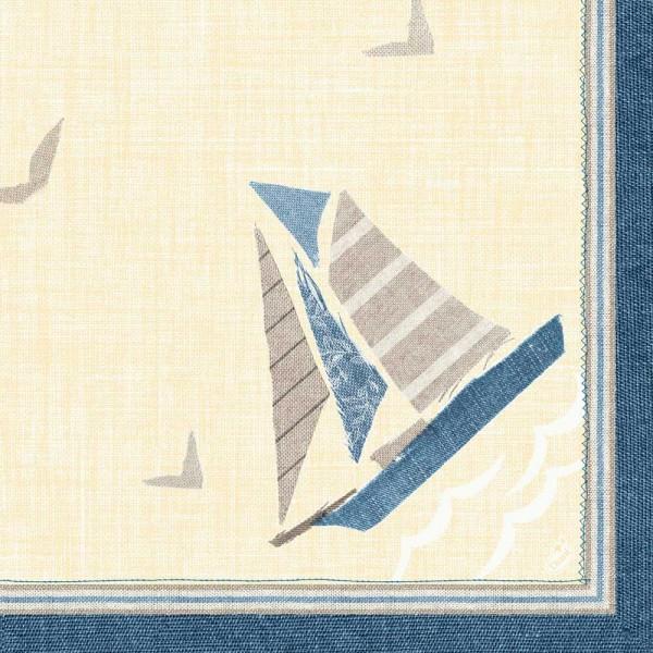 DUNI Klassik Serviette 40x40 cm 1/4F.Seaway