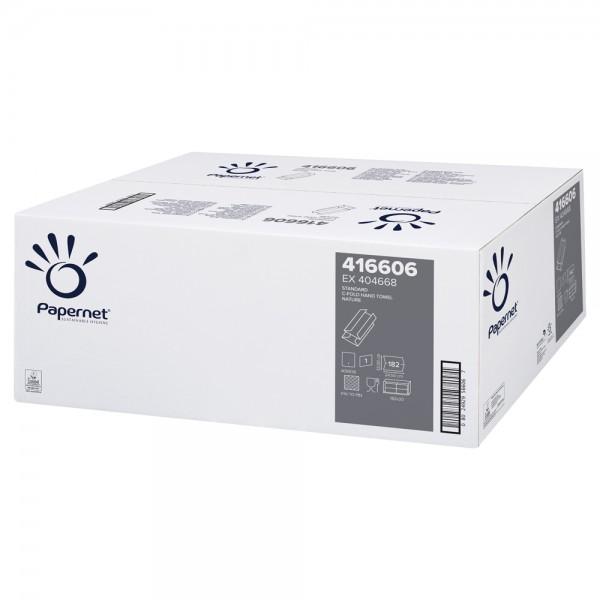 Papernet Handtuch LagenFalz 1-lagig naturweiß