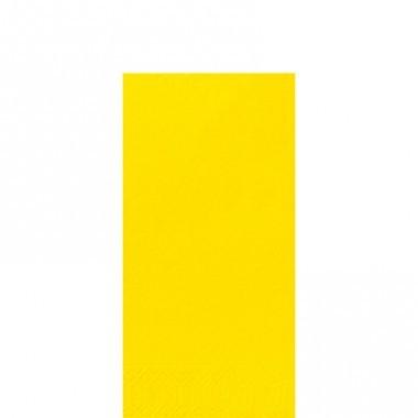 Fasana Zelltuch Serviette 33x33cm 1/8F. gelb