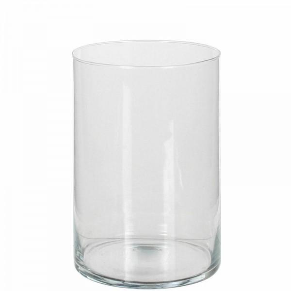 Glas Vase Salida rund Höhe 20cm/Ø 15cm