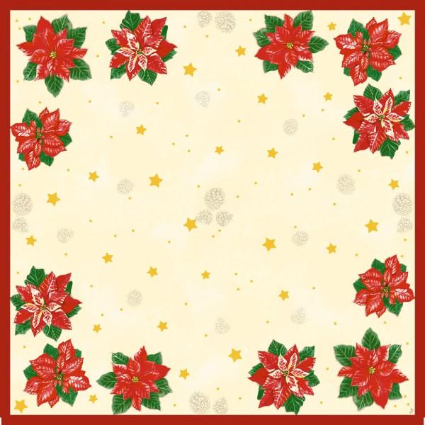 DUNI Mitteldecke 84x84cm Flores