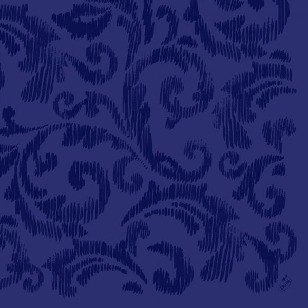 DUNI Dunilin Serviette 40x40cm 1/4F. Saphira blau