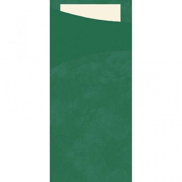 DUNI Serviettentasche Sacchetto 190x85 mm jägergrün
