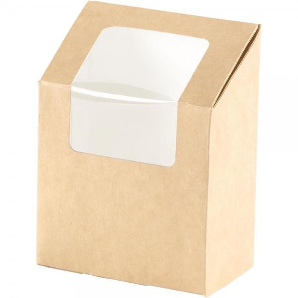 Duni Bio Pappe Wrapbox mit Fenster Art.:159911