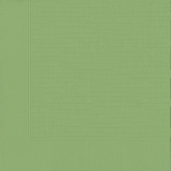 DUNI Klassik Serviette 40x40 cm 1/4F. Leaf Green
