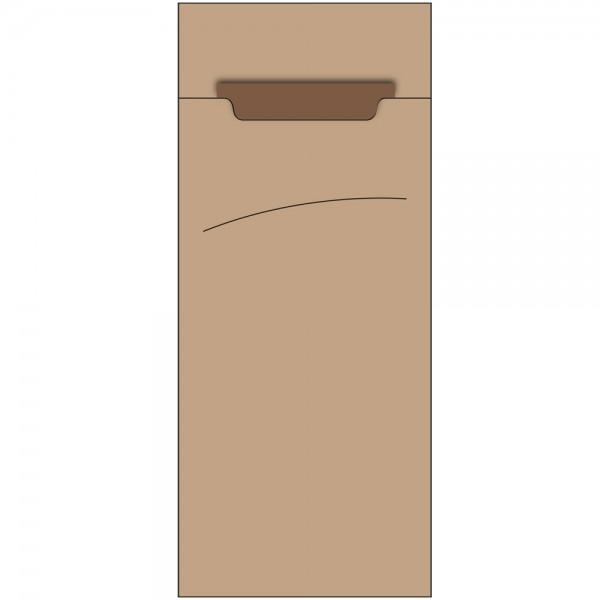 Bestecktasche Sacchet 85 x 200 mm 100%Recycled