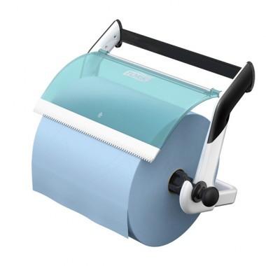 Wandhalter für Reinigungstücher türkis/blau
