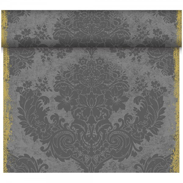 DUNI Tete-A-Tete Tischläufer Dunicel Royal Granite Grey