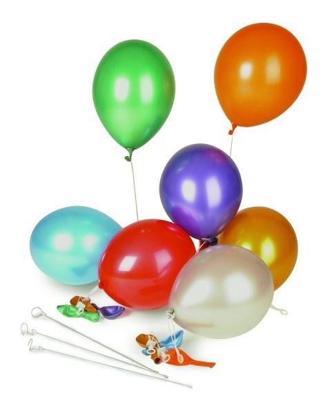 Luftballon gelb