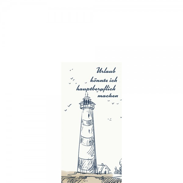 DUNI Zelltuch Serviette 33x33 cm 1/8F. Küste & Meer