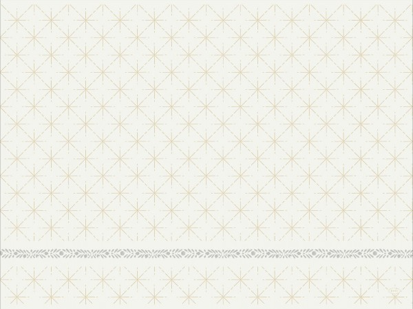 DUNI Tischset Dunicel 30x40 cm Glitter White