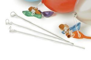 Drahtstäbe für Luftballon