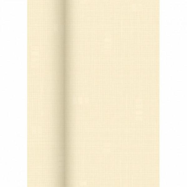 Dunisilk Tischtuch Rolle 1,18x25 m Linnea creme
